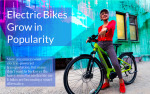 Electric Bikes Increase in Popularity