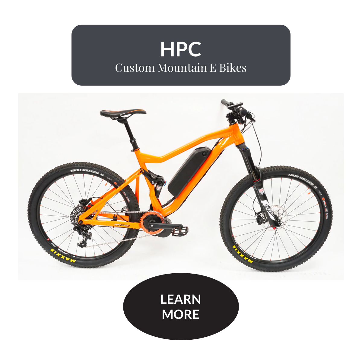 HPC Custom Mountain E Bike