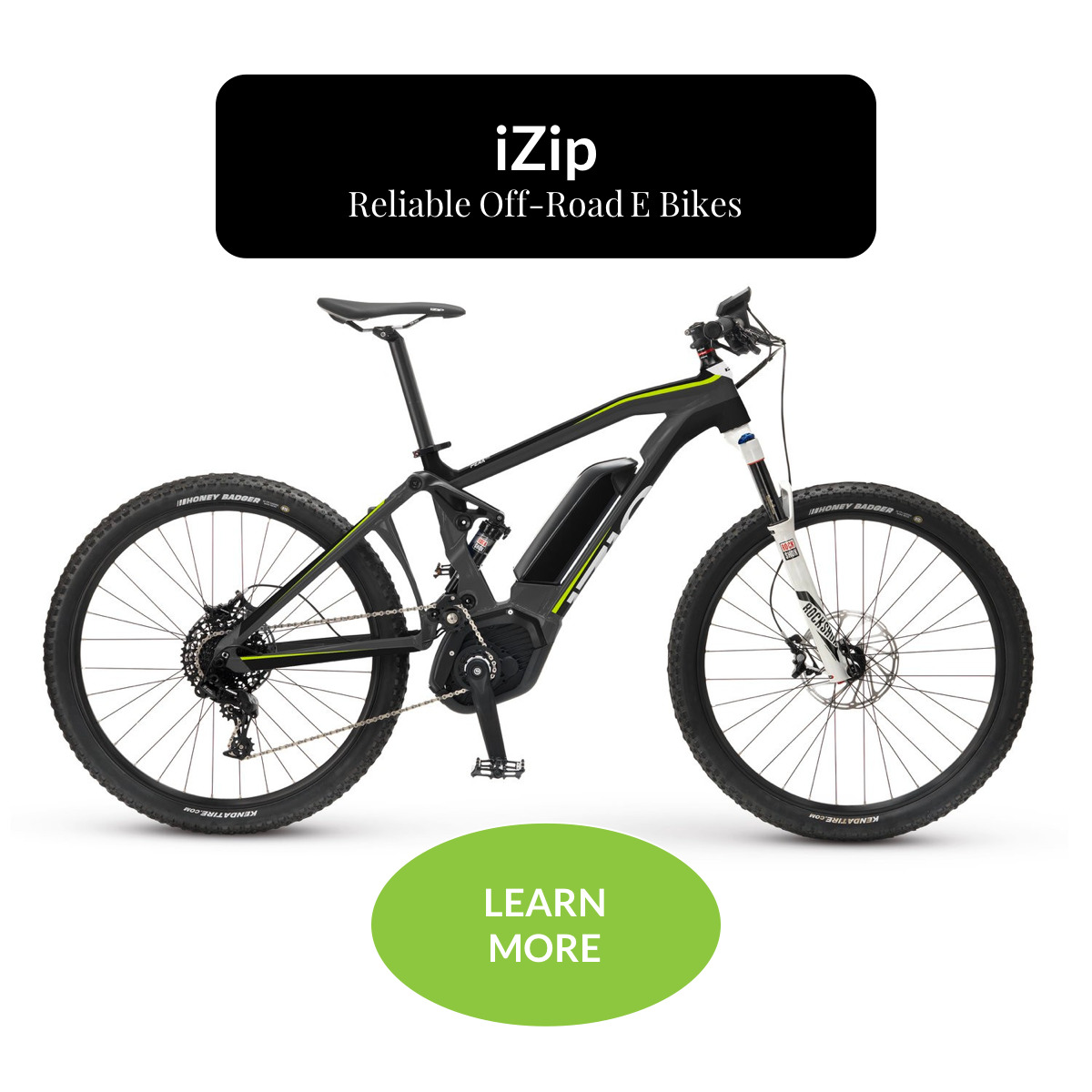 iZip Reliable Off-Road E Bikes