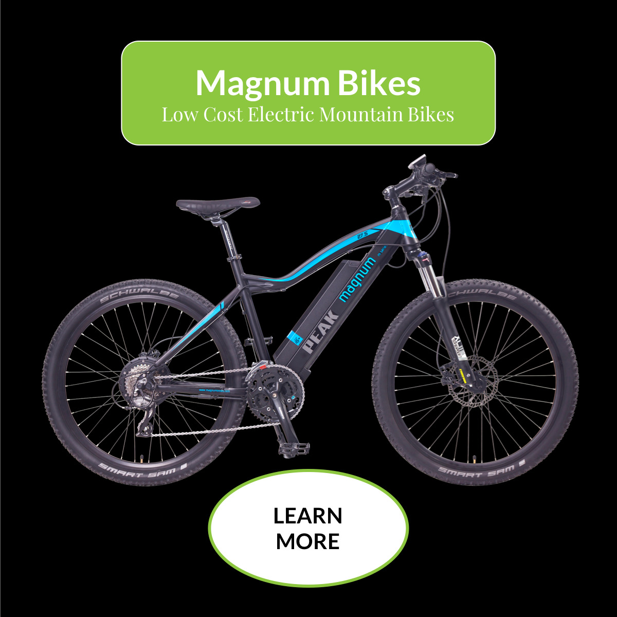 Magnum Low Cost Electric Mountain Bikes