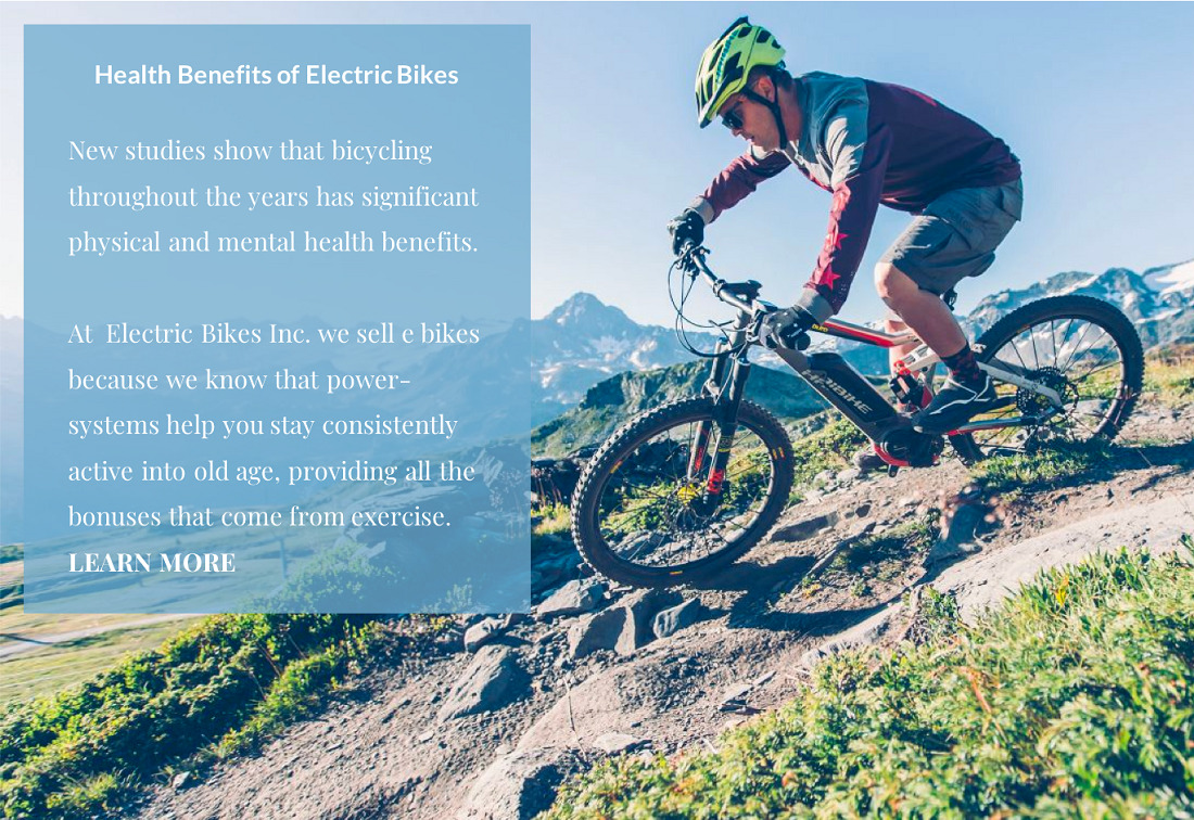 E Bikes Defeat Aging   See Powerful Health Benefits